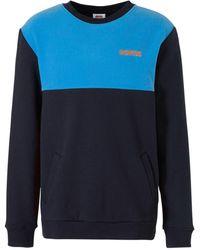 K-swiss Sweater Fleece Donkerblauw