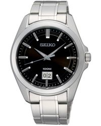 Seiko Horloge Sur009p1 Zilverkleurig - Metallic