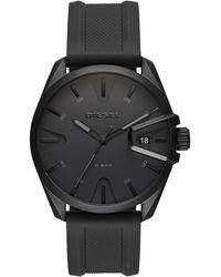 DIESEL Heren Horloge Ms9 Dz1892 - Zwart