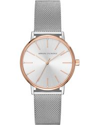 Armani Exchange Dames Horloge Lola Ax5537 - Metallic