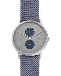 Skagen Kristoffer Heren Horloge Skw6524 - Metallic