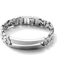 Fossil Armband - Metallic
