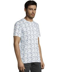 Tom Tailor - T-shirt Met All Over Print - Lyst