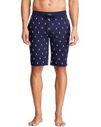 Polo Ralph Lauren Pyjamabroek Met All Over Print - Blauw