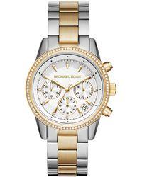 Michael Kors Horloge Mk6474. - Metallic