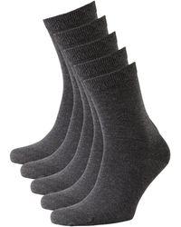 whkmp's own Sokken (5 Paar) - Grijs