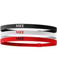 Nike Haarbandjes (set Van 3) - Rood