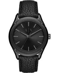 Armani Exchange Fitz Heren Horloge Ax2805 - Zwart