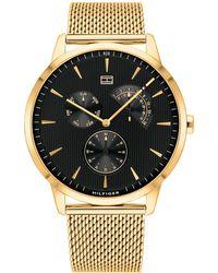 Tommy Hilfiger Horloge Th1710386 - Metallic
