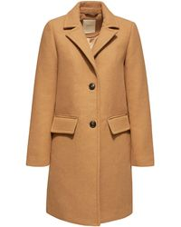 Esprit Women Casual Coat Camel - Bruin