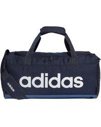 adidas Linear Duffel S Sporttas Donkerblauw