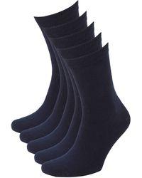 whkmp's own Sokken (5 Paar) - Blauw