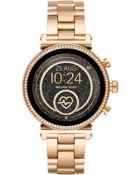 Michael Kors Sofie Smartwatch Mkt5062 - Metallic
