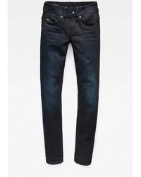 G-Star RAW Straight Fit Jeans - Blauw
