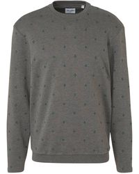 Only & Sons Sweater Met All Over Print Grijs