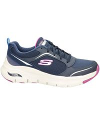 Skechers Arch Fit Sneakers Blauw
