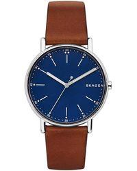 Skagen Signatur Heren Horloge Skw6355 - Metallic