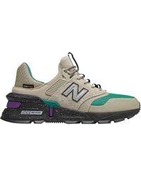 New Balance Ms997 Sneakers Grijs/groen/zwart