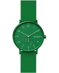 Skagen Kulor Heren Horloge Skw6545 - Groen