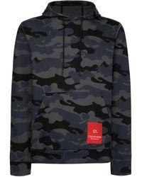 Calvin Klein Performance Hoodie Camouflageprint Grijs
