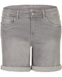 Miss Etam Jeans Short Grijs