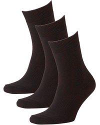 Jack & Jones Sokken (3 Paar) - Zwart