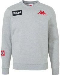 Kappa Sweater Grijs Melange