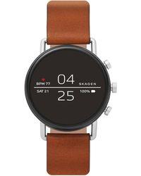 Skagen Falster Gen 4 Heren Display Smartwatch Skt5104 - Metallic