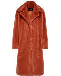 ONLY Imitatiebont Coat Bruin