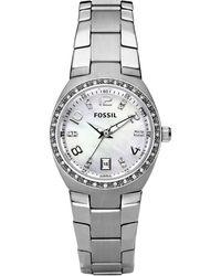 Fossil Dames Horloge Serena Am4141 - Metallic