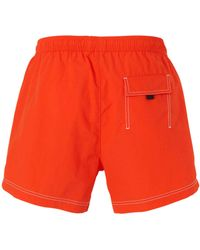 BOSS Zwemshort Tuna Oranje