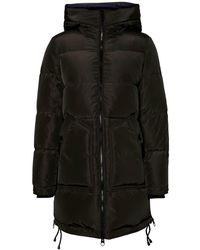 Vero Moda Gewatteerde Winterjas Zwart