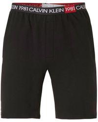 Calvin Klein Underwear Pyjamashort Zwart