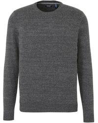 Izod Gemêleerde Sweater Grijs