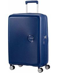 American Tourister Soundbox Spinner Koffer (67cm) - Blauw
