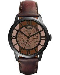 Fossil Townsman Heren Horloge Me3098 - Zwart