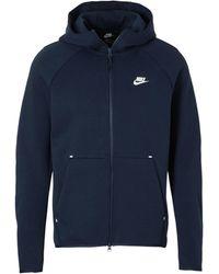 Nike Tech Fleece Vest Donkerblauw