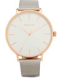 Parfois Horloge Zilverkleur - Metallic