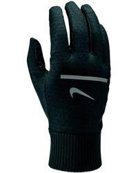 Nike Sphere Trainingshandschoenen Met Logo - Zwart