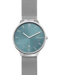 Skagen Grenen Heren Horloge Skw6521 - Metallic