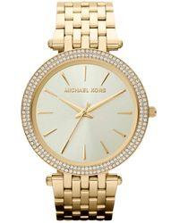 Michael Kors Horloge Mk3191 Goud - Metallic