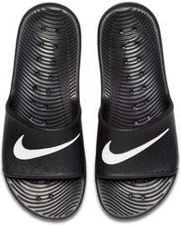Nike Badslippers Kawa Shower Slide - Zwart