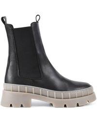 PS Poelman Nora Leren Chelsea Boots - Meerkleurig