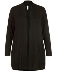 Miss Etam Plus Vest Zwart