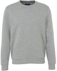 C&A Canda Geméleerd Sweater Met Fleece Lichtgrijs