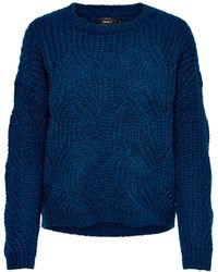 ONLY Trui Donkerblauw