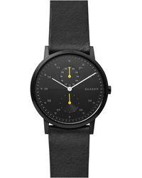 Skagen Kristoffer Heren Horloge Skw6499 - Zwart