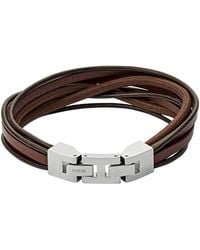 Fossil - Heren Armband Vintage Casual Jf03184040 - Lyst