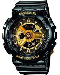 G-Shock Horloge - Ba-110-1aer - Zwart