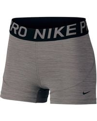 Nike Trainingsshort W Np Short 3in New - Grijs